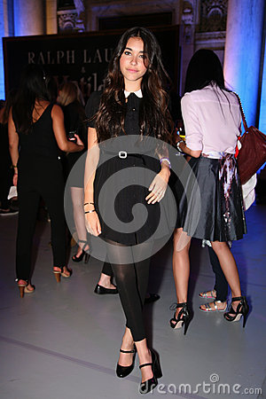 Free NEW YORK, NY - MAY 19: Madison Beer Appears At The Ralph Lauren Fall 14 Children S Fashion Show Royalty Free Stock Photography - 40844217