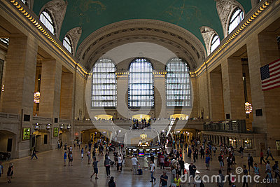NEW YORK, NY USA - MAY 29, 2016. Grand Central Terminal. Editorial Image