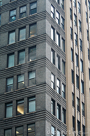 Free New York Office Building Pattern Royalty Free Stock Photography - 5040257