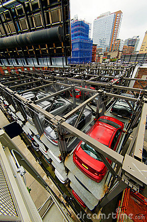 Free New York Parking Lots Stock Images - 12400534