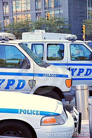 New York Police Editorial Stock Photo