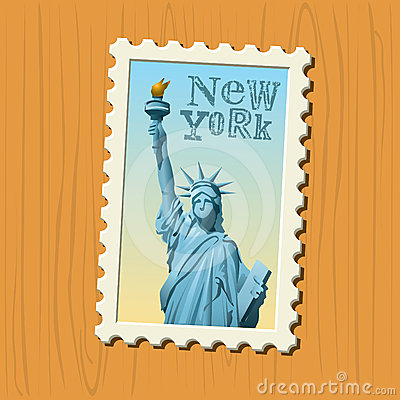 New York postage stamp