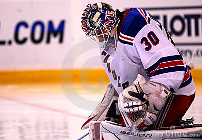 New York Rangers Henrik Lundqvist Editorial Stock Photo