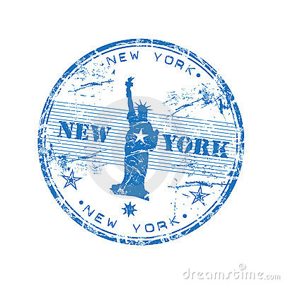 Free New York Rubber Stamp Stock Photo - 8928160