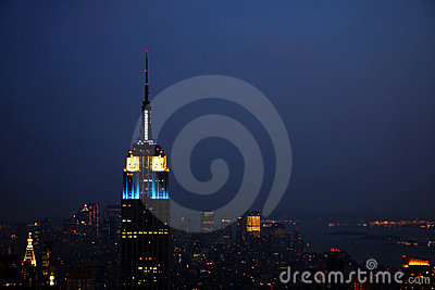 New York Skyline Editorial Stock Image