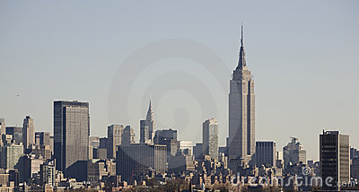 New York Skyline with Empire State Building