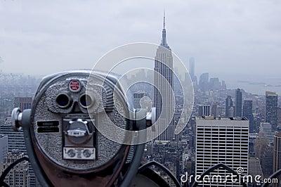 New York Skyline Observation