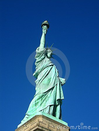 New York: Statue of Liberty, an American symbol