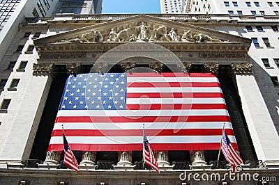 New York Stock Exchange Editorial Stock Image