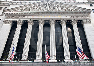 New York Stock Exchange Editorial Image