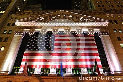 New York Stock Exchange Editorial Image