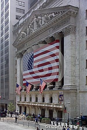 New York Stock Exchange Editorial Photo