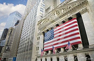 New York Stock Exchange Editorial Stock Photo