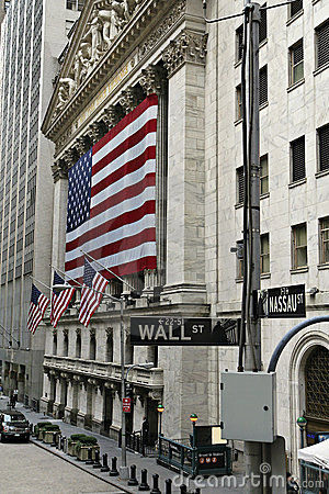 New York Stock Exchange Editorial Stock Image