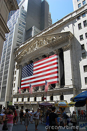 New York Stock Exchange, Manhattan Editorial Photo