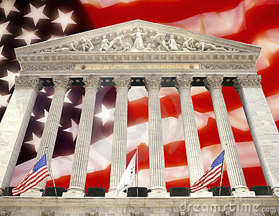 New York - Stock Exchange - USA - Flag Editorial Photography