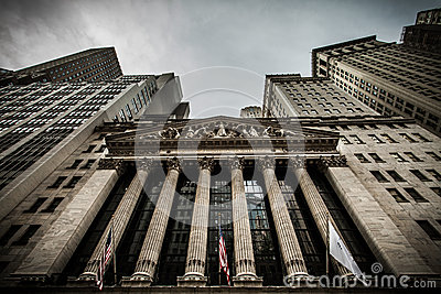 The New york Stock Exchange Editorial Photography