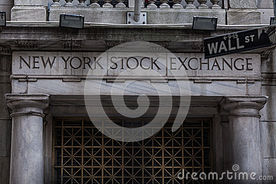 The New york Stock Exchange Editorial Image