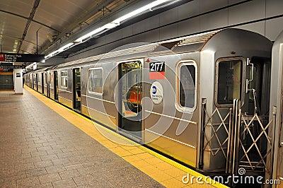 New york City subway Editorial Image