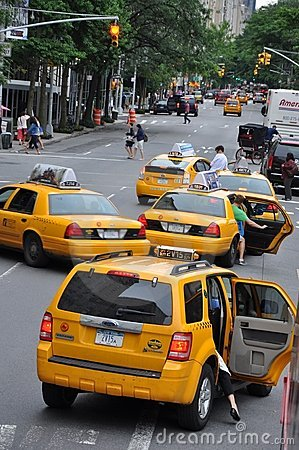 New York Taxi cabs Editorial Image