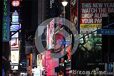 Times Square Redactionele Foto