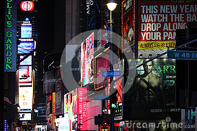 Times Square Photo éditorial