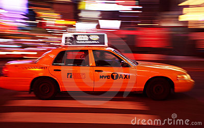 New York Times Square traffic Editorial Stock Image