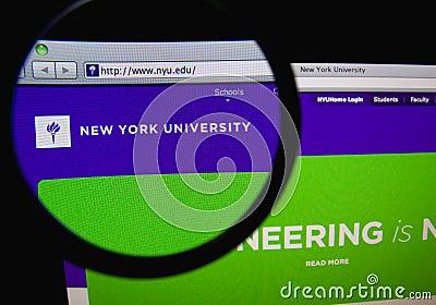 New York University Editorial Stock Image
