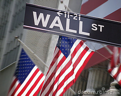 New York - Wall Street Stock Exchange - USA Editorial Stock Photo