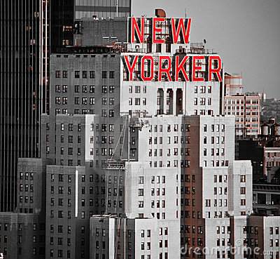 New Yorker Hotel Editorial Stock Image