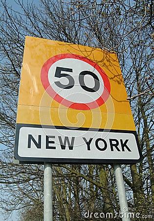 New- Yorkzeichen