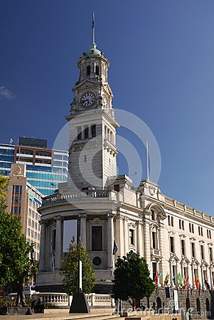 New Zealand: Auckland historic town hall