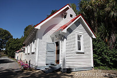 New Zealand church.