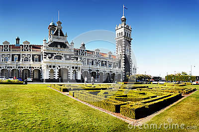 New Zealand, Dunedin, Historic Railway Station