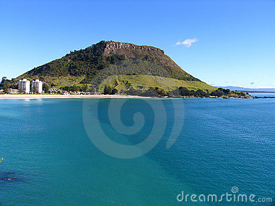New Zealand Landscape (Mount Maunganui)