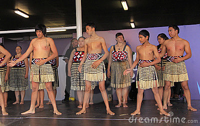 New Zealand Maori perform Haka War dance Editorial Stock Image