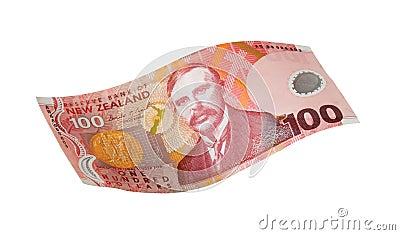 New zealand one hundred dollar
