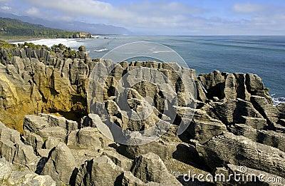 New Zealand - Pancake Rocks - South Island