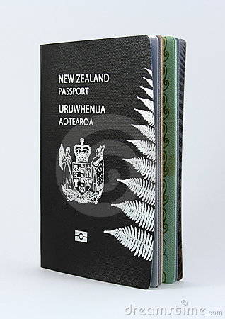 New Zealand Passport - New style