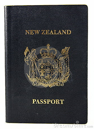 New Zealand Passport - Old style