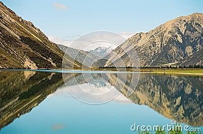 New Zealand Reflection lake