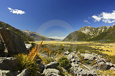 New Zealand s Hooker Valley View
