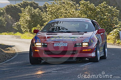New Zealand Targa Rally Editorial Image