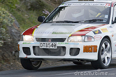 New Zealand Targa Rally Editorial Stock Photo
