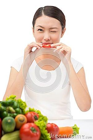 Newbie vegetarian