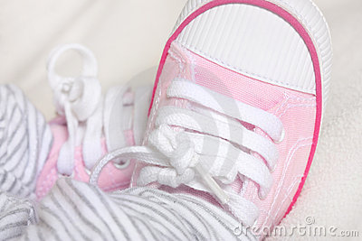 Newborn babies trainers or sneakers