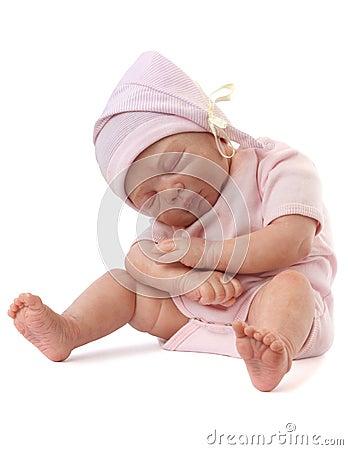Free Newborn Baby Doll Royalty Free Stock Photos - 24168708