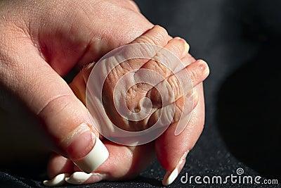 Newborn s Hand