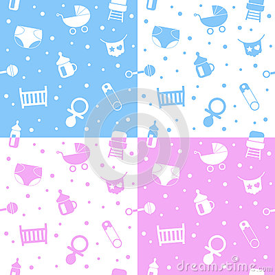 Newborn Seamless Patterns