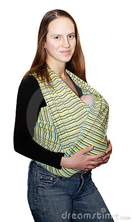 Newborn in the sling